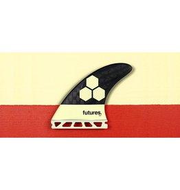 Futures Fins AM1 Blackstix 3.0 Thruster Surfboard Fins Cream