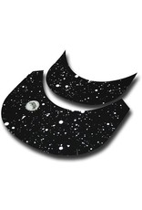 Brim Skins Brimskins Splatter Black & White Hat Brim