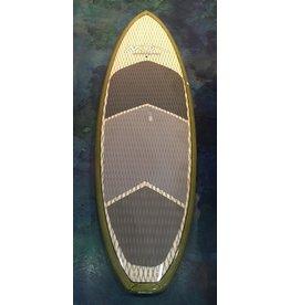 Dolsey Dolsey 8'6 Ripper SUP White Bamboo w/ Kevlar Weave