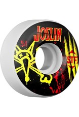 EASTERN SKATE SUPPLY BONES WHEELS STF Pro Joslin Ex-Men 51mm 4pk