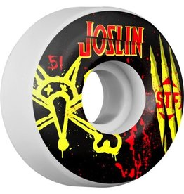 EASTERN SKATE SUPPLY BONES WHEELS STF Pro Joslin Ex-Men 51mm 4pk