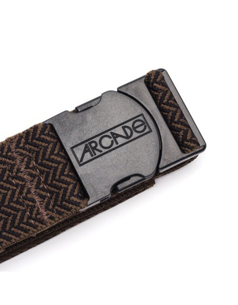 Arcade Belts Arcade Belts The Hemingway Brown/Black OSFA Weather Proof