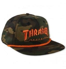 Thrasher Thrasher Rope Snapback Cap Camo