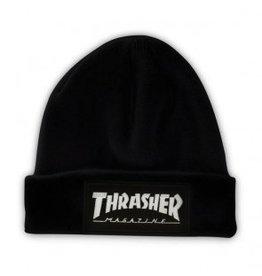 Thrasher Thrasher Patch Beanie Black