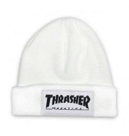 Thrasher Thrasher Patch Beanie White