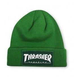 Thrasher Thrasher Patch Beanie Green
