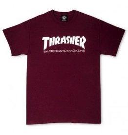 Thrasher Thrasher Skate Mag T, Maroon, S