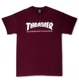 Thrasher Thrasher Skate Mag T, Maroon, XL