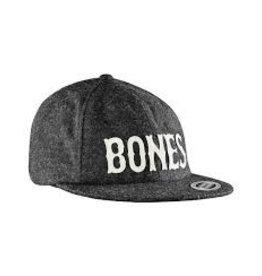 Skate Bones Wooly Snap Back Gray