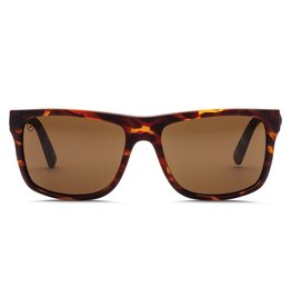 Electric Visual Electric Swingarm Matte Tort Frame Melanin Bronze Polarized Level 1 Lens Sunglasses