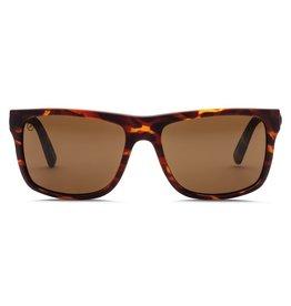 Electric Visual Electric Swingarm Matte Tort Frame Melanin Bronze Polarized Level 1 Lens Sunglasses