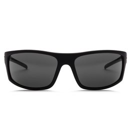Electric Visual Electric Tech One Matte Black Frame Melanin Grey Polarized Level 1 Lens