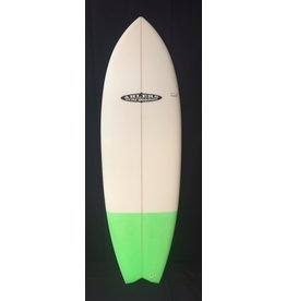 "AHLERS Ahlers 5'8"" x 20 3/4 x 2 1/4 Fish Surfboard W/ Color New"