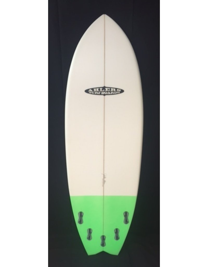 """AHLERS Ahlers 5'8"""" x 20 3/4 x 2 1/4 Fish Surfboard W/ Color New"""