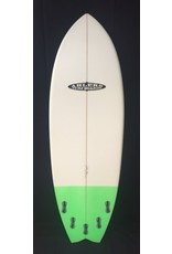 "AHLERS Ahlers 5'9"" x 20 3/4 x 2 3/8 Fish Surfboard W/ Color New"