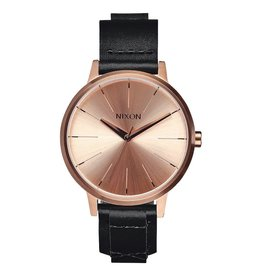 Nixon Nixon Kensington Leather Watch Rose Gold / Bridle