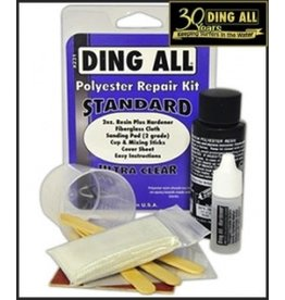 Ding Repair Ding All Standard Polyester repair Kit Ultra Clear