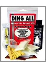 Ding Repair Ding All Super Ultra Clear Polyester repair Kit