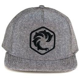 WRV WRV Hex Snapback Hat Heather Grey