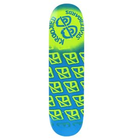 EASTERN SKATE SUPPLY KROOKED DIFFUSED MD DECK-8.06 SKY BLUE