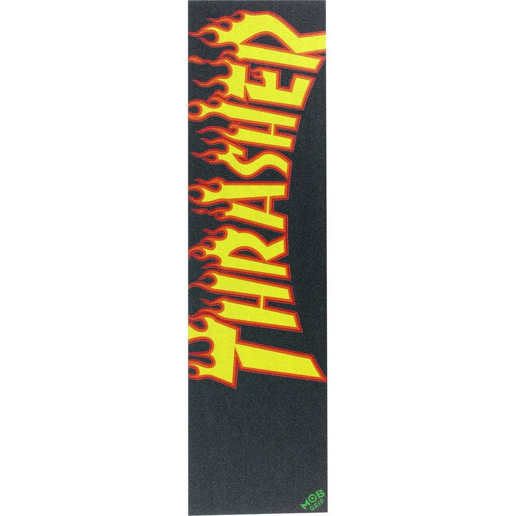 EASTERN SKATE SUPPLY THRASHER/MOB FLAME Single Sheet GRIP 9x33