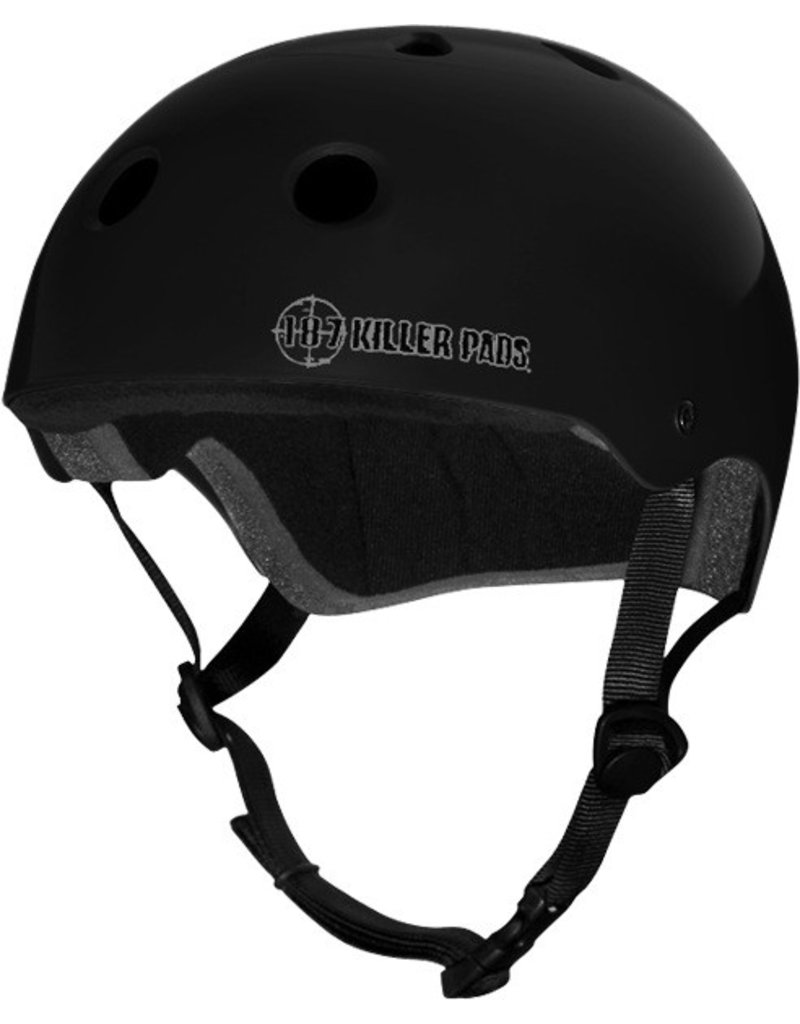 EASTERN SKATE SUPPLY 187 PRO HELMET M-MATTE BLACK