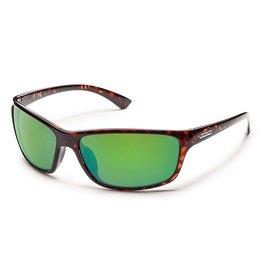 Suncloud Suncloud Swagger Sunglasses Frame Matte Black Lens Blue Mirror Polarized Polycarbonate
