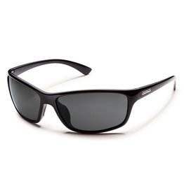 Suncloud Suncloud Sentry Sunglasses Frame Black Lens Gray Polarized Polycarbonate