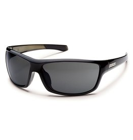 Suncloud Suncloud Conductor Sunglasses Frame Black Backpaint Lens Gray Polarized Polycarbonate