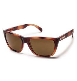 Suncloud Suncloud Standby Sunglasses Frame Tortoise Lens Brown Polarized Polycarbonate