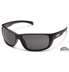 Suncloud Suncloud Milestone Sunglasses Frame Matte Black Lens Gray Polarized Polycarbonate
