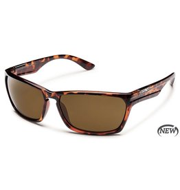 Suncloud Suncloud Cutout Sunglasses Tortoise Lens Brown Polarized Polycarbonate