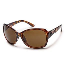 Suncloud Suncloud Cassandra Sunglasses Tortoise Lens Brown Polarized Polycarbonate
