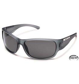 Suncloud Suncloud Convoy Sunglasses Matte Gray Lens Gray Polarized Polycarbonate