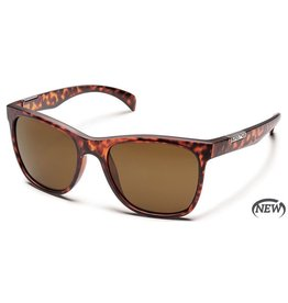 Suncloud Suncloud Doubletake Sunglasses Matte Tortoise Lens Brown Polarized Polycarbonate