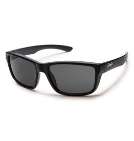 Suncloud Suncloud Mayor Sunglasses Matte Black Lens Gray Polarized Polycarbonate