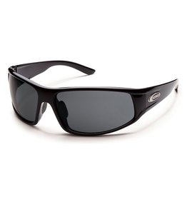 Suncloud Suncloud Warrant Sunglasses Frame Black Lens Gray Polarized Polycarbonate