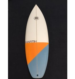 "Martin Surfboards Martin 5'5"" x 18 3/4 x 2 3/16 28.5L Shortboard New"