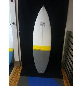 """Martin Surfboards Martin 5'8"""" x 19 1/4 x 2 1/4 25L Shortboard New"""