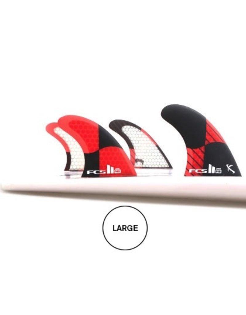 FCS FCS II MB PC Carbon Tri-Quad Set Surfboard Fins Matt Mayhem Biolos