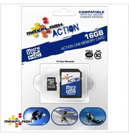 16GB Max-Flash Action Micro SDHC Class 10