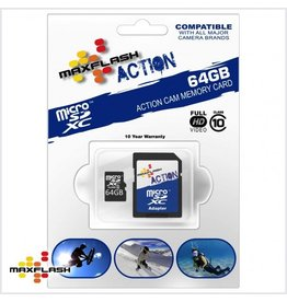 64GB Max-Flash Action Micro SDHC Class 10