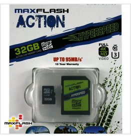 32GB Max-Flash Action Hyperspeed Micro SDHC Class 10