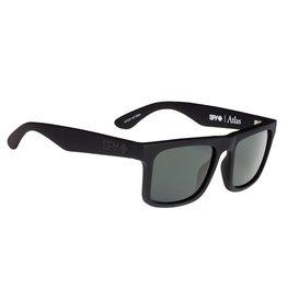 Spy Optic Spy Atlas Soft Matte Black Frame Happy Grey Green Polar Lens Sunglasses