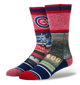 Stance Stance Ivy Socks Wrigley Field Chicago Cubs MLB Baseball S/M