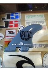 FCS FCS II Performer GF Tri Set Medium Pit Surf Shop Edition Surfboard Thruster Fins