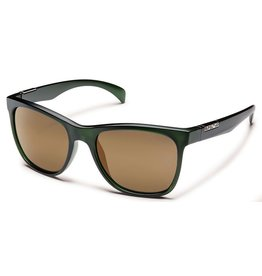 Suncloud Suncloud Doubletake Sunglasses Matte Green Frame Sienna Mirror Polarized Polycarbonate Lens
