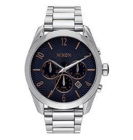 Nixon Nixon Bullet Chrono Watch Navy / Rose Gold