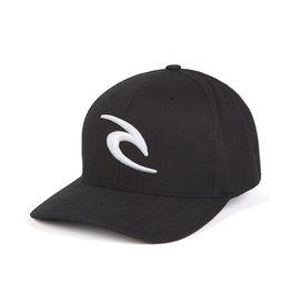 Rip Curl Rip Curl RC Icon Flexfit Hat Mens Black Surfing