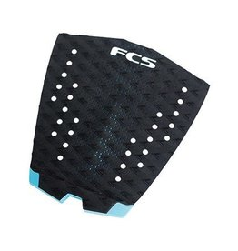 FCS FCS Traction Essential Series T-1 Black/Teal Surfboard Traction Pad